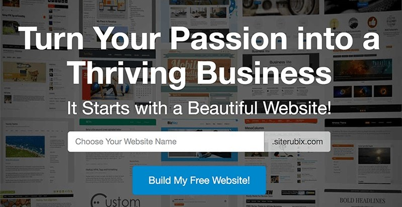 Create a Free Business Website with Site Rubix