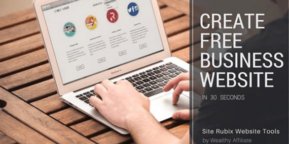 How to create a business website in 30 seconds or less