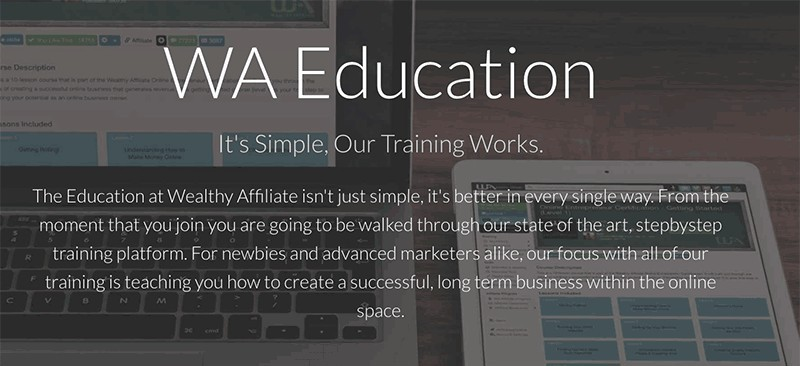 Wealthy Affiliate Training is Alternative to The Imperfect Website